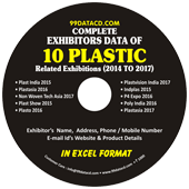 Complete Exhibitors Data of Plastic Exhibitions