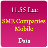 11.55 Lac SME Companies Mobile Numbers Data - In Excel Format
