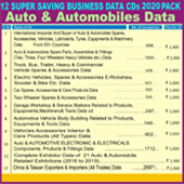 Auto & Automobile Combo (12 Types Data) - In Excel Format