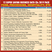 Food, Processing, Hospitality Agro Etc. Combo (12 Types Data) - In Excel Format