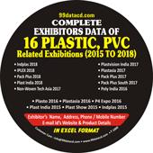 Complete Exhibitors Data of Plastic Exhibitions