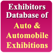 Exhibitors Data of 21 Auto & Automobile Related Exhibitions  In Excel Format  (Exhibition Wise)