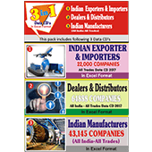 Indian Exporter, Mfg.,Dealer, Distributor Combo