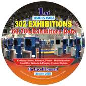 302 Exhibitions &  60,786 Exhibitors Data