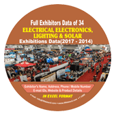 Exhibitors Data of Electrical & Electronics