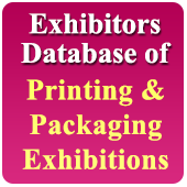 Exhibitors Data of 37 Printing &  Packaging Exhibition - In Excel Format-(Exhibition Wise)