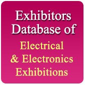 Exhibitors Data of 38 Electronics &  Electrical Exhibition - In Excel Format  (Exhibition Wise)