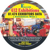 81,474 Exhibitors Data From  412 Exhibitions - In Excel Format (Exhibition Wise)