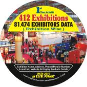 412 Exhibitions &  81,474 Exhibitors Data