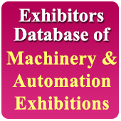 Exhibitors Data of 47 Machinery & Tools Exhibition - In Excel Format  (Exhibition Wise)