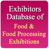 Exhibitors Data of 52 Food  Related Exhibition - In Excel Format  (Exhibition Wise)