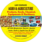 Agro & Agriculture  Products & Chemical Data