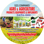 Agro, Farming, Agriculture  Products & Equipments Data