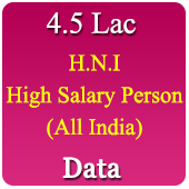 4,51,832 High Salary Persons Data (All India) - In Excel Format