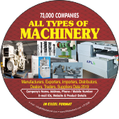 All Types of  Machinery (All India) Data