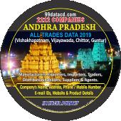 2,222 Andhra Pradesh - Vijaywada  (All Trades) Data - In Excel Format