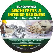 Architects & Interior  Designer (All India) Data