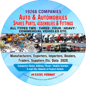 19,266 Auto & Automobiles Spare Parts Data - In Excel Format