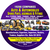 Auto & Automobiles  Spare Parts & Fittings Data