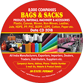 8,000 Bags & Sacks Products & Materials Data - In Excel Format