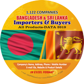 1,122 Importers & Buyers of Sri Lanka & Bangladesh (All Products) Data - In Excel Format