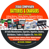 Batteries & Chargers Products & Accessories Data