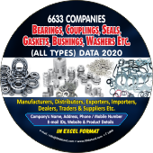 Bearings, Couplings, Seals,   Washers Etc. Data