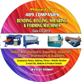 Bending, Rolling, Shearing, & Forging Machines Data 2019