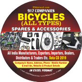 Bicycle (All Types) Spares & Accessories Data