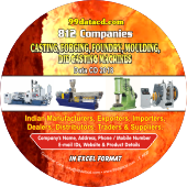 Casting, Forging, Foundry, Moulding, Die Casting Machines Data 2019