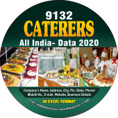 Caterers (All India)  Data