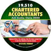 19,510 Chartered Accountants All India Data - In Excel Format