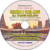33,922 Chennai & Tamil Nadu  (All Trades) Data - In Excel Format