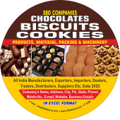 Chocolates, Biscuits & Cookies Products, Materials, Packing & Machinery