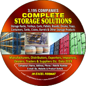 Complete Storage  Solutions (All India) Data