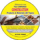 10,830 Construction, Builder &  Hardware Data - In Excel Format