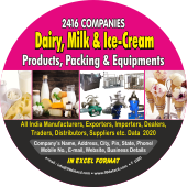 2,416 Dairy, Milk & Ice Cream Product Data - In Excel Format