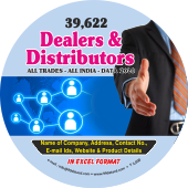 39,622 Indian Dealers & Distributors (All Trades) Data - In Excel Format