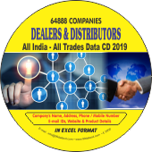 64,888 Indian Dealers & Distributors (All Trades) Data - In Excel Format