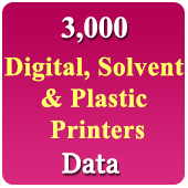 Digital, Solvent,Plastic Printers Data