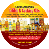 Edible Oil & Cooking  Oils Data