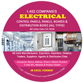Electrical Panels Distribution Boxes Data