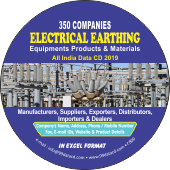 350 Electrical Earthing Products & Equipments Data - In Excel Format