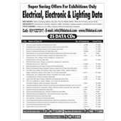 Electrical,  Electronics &  Lighting 25 Data Combo