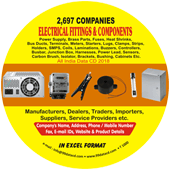 Electrical Fittings &  Components (All India) Data