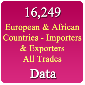 European & African Countries Importers & Buyers All Trades Data
