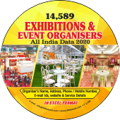 14,589 Exhibition & Event Organisers  (All India) Data - In Excel Format