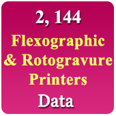 Flexographic & Rotogravure  Printer Data