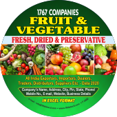 Fruits & Vegetables  Data