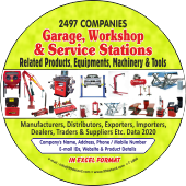 2,497 Garage, Workshop & Service Stations Data - In Excel Format